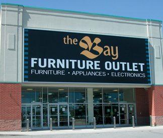 Storefront sign, large sign, led sign