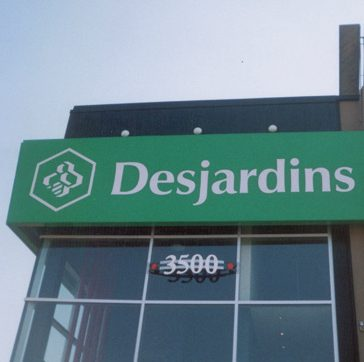 bank sign, store sign, led sign, retail sign, advertising